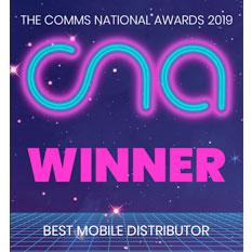 CNA 2019 Winner Best Mobile Distributor